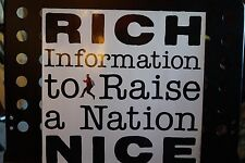 Rich Nice – Information To Raise A Nation   Vinyl, LP