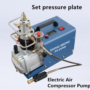 30MPa Electric Air Compressor Pump PCP System Rifle 4500PSI High Pressure 220V