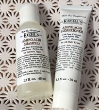 Set of Kiehl's Amino Acid Shampoo 1.0oz/30ml + Conditioner 2.2oz/65ml