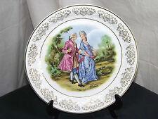 Alfred Meakin Vintage Zimco Plate1950s Regency Lady & Gentleman. England