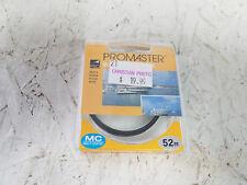 PROMASTER 52MM E-UV MC Camera filter