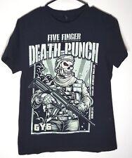 Five Finger Death Punch T-Shirt   Got Your Six Solider GY6   Mens Medium