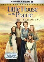 Little House on the Prairie: Season 2 (Second Season) (5 Disc, Deluxe) DVD NEW
