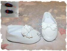 Chaussure Blanche Poupée American Girl Notre génération Corolle Bella Gégé Gotz