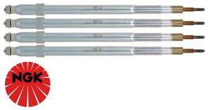 SET OF 4 NGK GLOW PLUGS FOR NISSAN PATROL GU Y61 ZD30DDTI 3.0L I4 FROM 09/2007