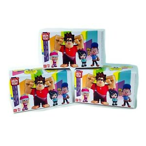 "Disney Wreck it Ralph Breaks The Internet 2"" Figure Blind Boxes Set of 3"