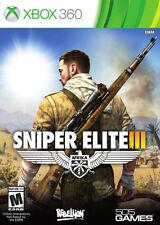 Sniper Elite III Xbox 360 New Xbox 360, Xbox 360