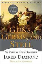 Guns, Germs, and Steel: The Fates of Human Societies by Jared Diamond (Hardback, 2005)