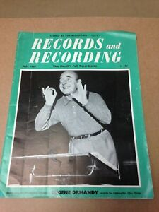 Records and Recording Magazine May 1958 Eugene Ormandy (A2025)