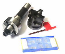 R8 FMB22 arbor +400R 50MM face mill cutter and 10pcs inserts