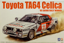 Toyota TA64 Celica 1985 Safari Rally Winner 1:24 Model Kit Beemax Aoshima 084564