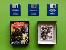 OPERATION THUNDERBOLT Atari ST Ocean TAITO 1989 OVP Big Box 3 DISK no Amiga C64