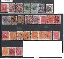 Bolivia Lot of Twenty Six Early Stamps VFU (5djo)