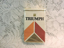 Vintage Triumph Filter Cigarette Pack EMPTY Display Only