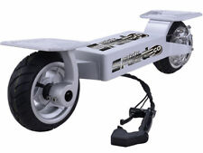 MotoTec Speed Go Electric Skateboard Scooter 36V 10AH Li-ion 20MPH 17mi SILVER