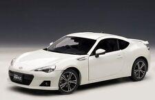 1/18 AutoArt Subaru BRZ (RHD) 2012 White Metallic