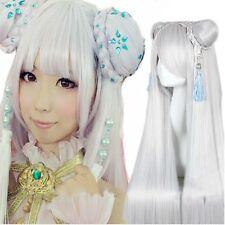 JX Online 3 Lolita Bun Head high heat resistant ancient costume Cosplay Wig