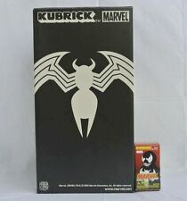 Medicom Toy marvel Kubrick Spiderman Venom Kubrick 400% +100% 2pcs set Figure