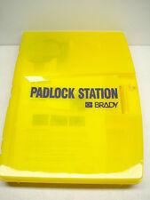 BRADY 105932  READY ACCESS PADLOCK STATION  YELLOW - UNFILLED