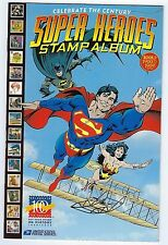 SUPER HEROES U.S. Stamp Album - Book 1: 1900 to 1909 - never used *M/NM.