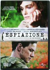 Dvd Espiazione con Keira Knightley e James McAvoy 2007 Usato
