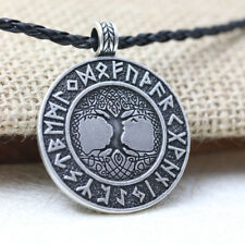 TREE OF LIFE Celtic Nordic Vikings Runes Amulet Pendant Necklace Talisman Zila