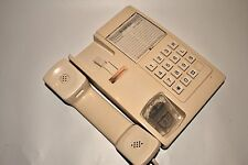 Vintage UK Beige Telephone Button Phone BRITANICA Soviet Era USSR Working!