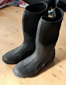 Drysuit Boots rubber & neoprene size 6