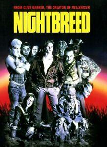 Nightbreed DVD Night Breed - Clive Barker Movie - RARE AUSTRALIAN REGION 4 PAL