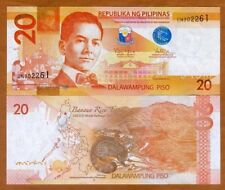 Philippines P-New 2010 20 Piso Gem UNC
