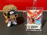 2019 Panini Score Patrick Mahomes II EPIX Moment Refractor #EM-3 KC Chiefs MVP!