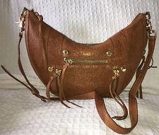 BOTKIER Nutmeg Leather LOGAN Hobo Handbag Purse Bag-MINT