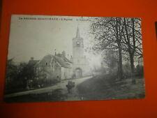cpa 77 village seine et marne LA BROSSE-MONTCEAUX L'éGlise en 1915 TRES BON ETAT