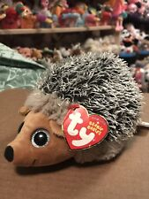 "Ty Spike -Frosted Grey Furry Mwct Porcupine 6"" Beanie Baby *Retired* Rare & Vhtf"