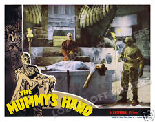 THE MUMMY'S HAND LOBBY SCENE CARD # 2 POSTER 1940 TOM TYLER PEGGY MORAN
