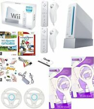 Wii Console Nintendo White BOXED 2 Player Remotes Mario Kart Wii Sports Play