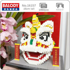 Balody 16157 China Spring Festival Lion Dance Mini Diamond Blocks Building Toy