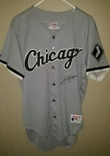 FRANK THOMAS Autographed Chicago White Sox Rawlings  Baseball Jersey - Signed