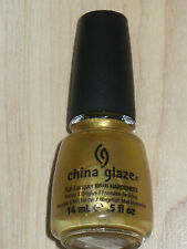 "NEW CHINA GLAZE NAIL POLISH IN ""CHAMPAGNE BUBBLES"" FULL SIZE 0.5OZ 14ML"