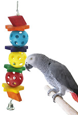 1117 Star Ball Bird Toy parrot cage toys cages african grey cockatoo amazon