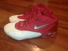 Nike Shox Status TB 2003 Varsity Red White Silver Mens Basketball Shoes Size 14