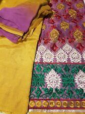 Indian Salwar Kameez Ethnic Party wear Unstiched Suit Fabric