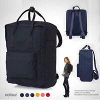 Men Canvas Travel  Backpack School Rucksack Vintage Satchel Shoulder Laptop Bag