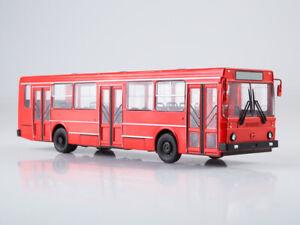 Scale model bus 1:43, LiAZ-5256