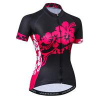 Women's Cycling Jersey Clothing Bicycle Sportswear Short Sleeve Bike Shirt  F32