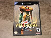 Metroid Prime Nintendo Gamecube Complete CIB Authentic