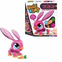 New Build A Bot Electronic Pet Rabbit Robot Pet Bunny Best Xmas Gift