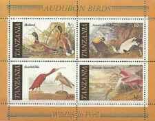 Timbres Oiseaux Tanzanie BF45 ** lot 19910