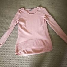 DOTTI oversized pink jumper long back SZ XS