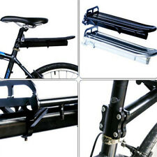 MTB Bicycle Mountain Bike Black Rear Pannier Carrier Rack Seat Post Kit COU Hot
